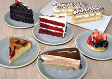 <h5>Praline Pastry Shop & Cafe</h5>